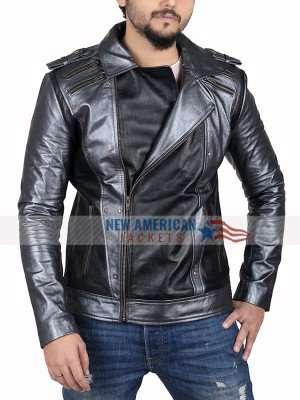 Even X Men Apocalypse Quicksilver Leather Jacket