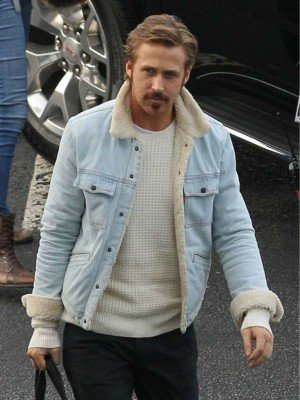 The Nice Guys Ryan Gosling Jacket Fur