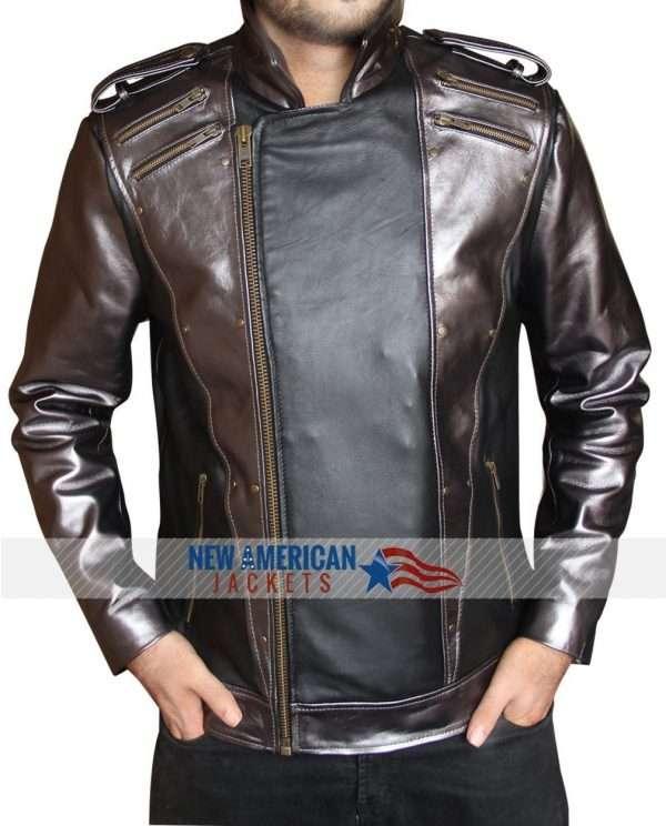 X Men Apocalypse Quicksilver Leather Jacket