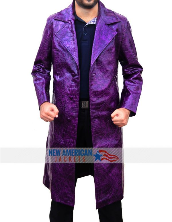 Jared Leto Crocodile The Joker Coat