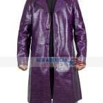 Jared Leto Joker Crocodile Coat