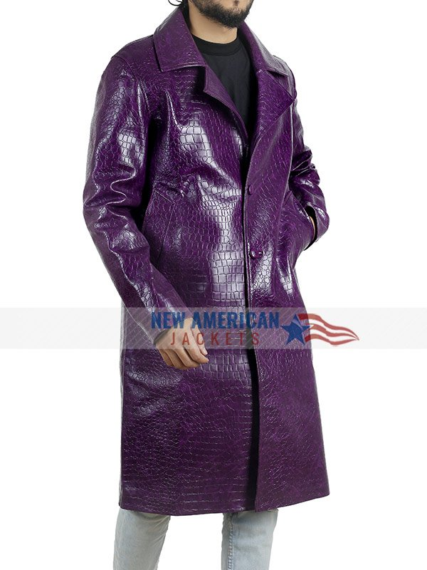 Jared Leto Joker Trench Coat