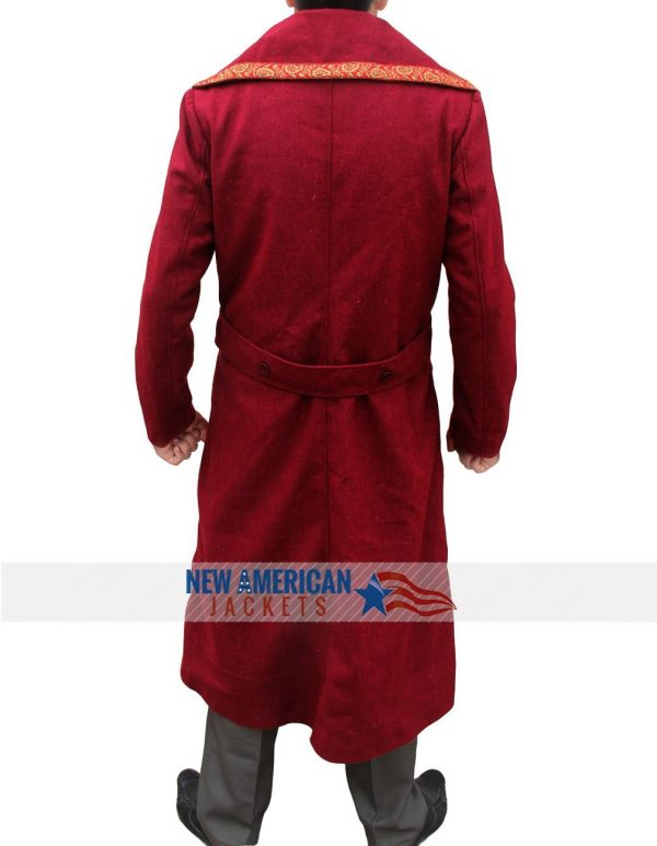 Doctor Strange Benedict Cumberbatch Red Coat