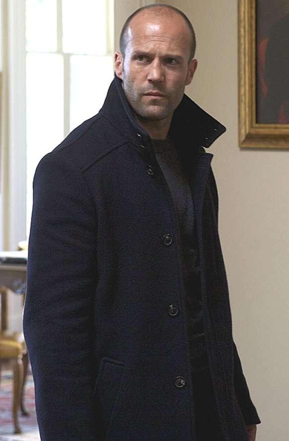 Jason Statham Arthur Bishop Coat