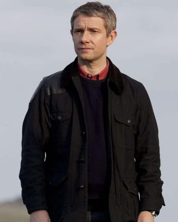 john watson black jacket