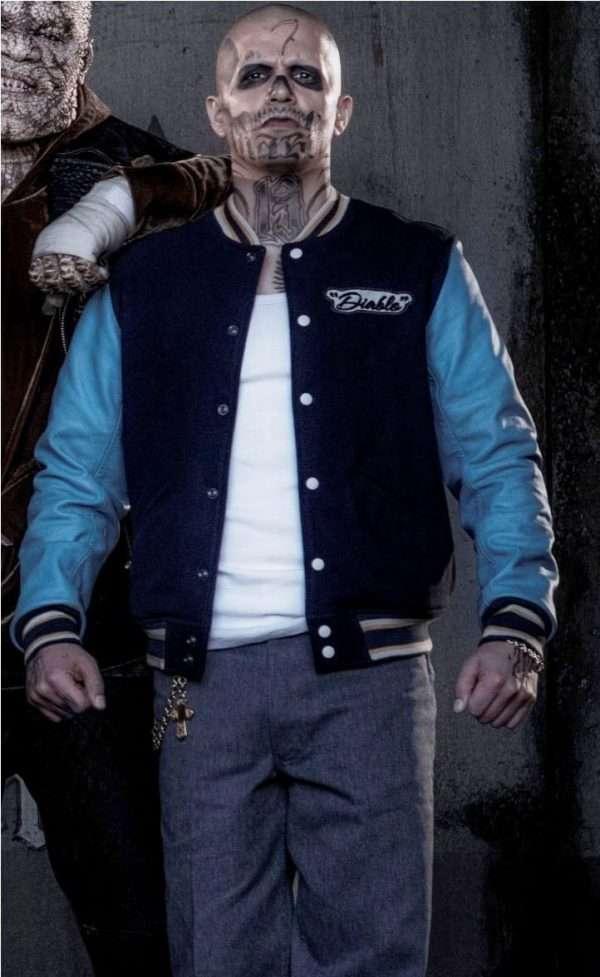 Jay Hernandez El Diablo Suicide Squad Jacket