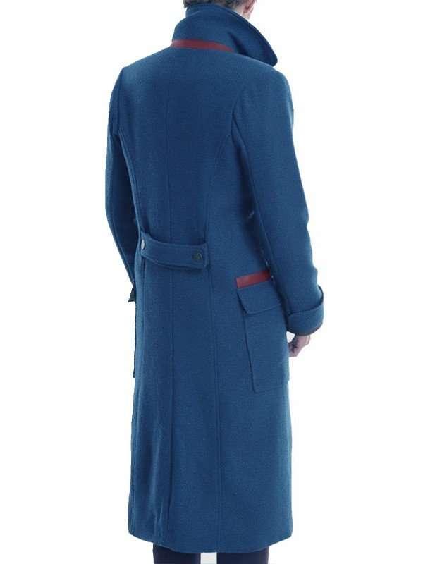 Eddie Redmayne Fantastic Beasts Wool Coat