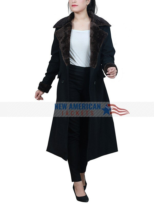 Office Christmas Party Black Coat