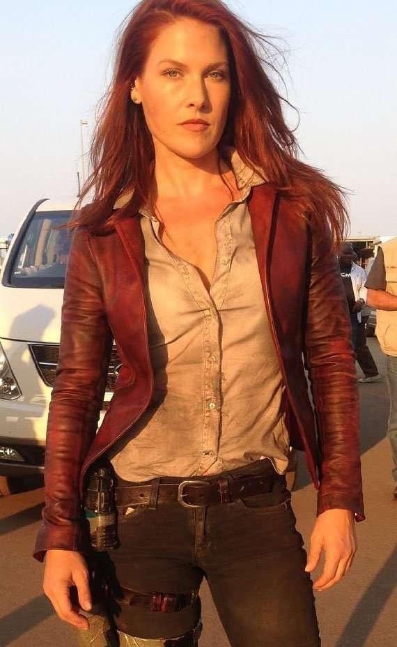 Resident Evil The Final Chapter Ali Larter Leather Jacket