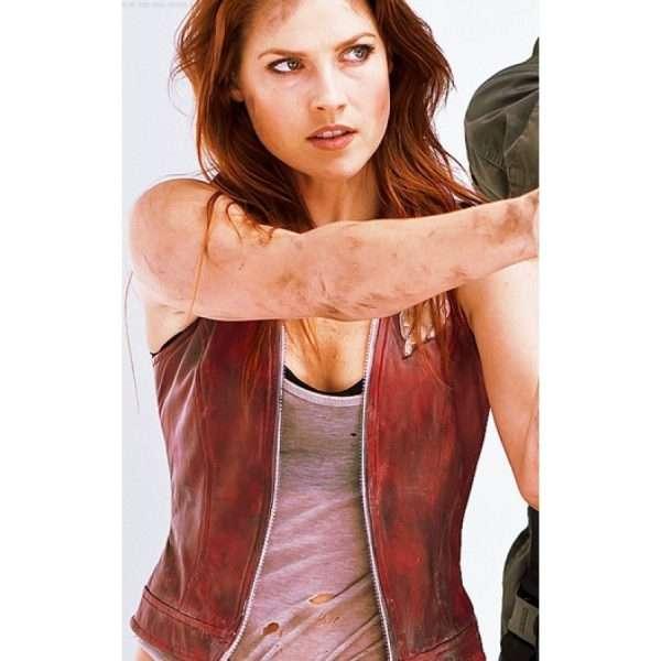 Resident Evil The Final Chapter Ali Larter Vest