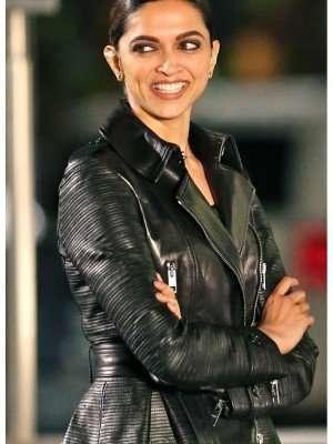 Serena Unger Leather Jacket