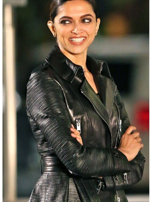 Serena Unger Leather Jacket