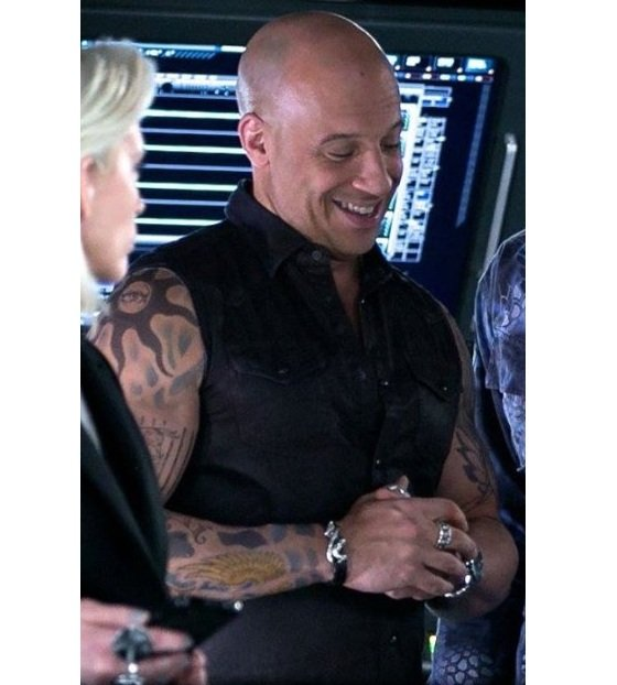 Vin Diesel Leather Vest