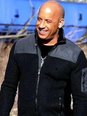 XXX Return of Xander Cage Vin Diesel Black and Grey Jacket