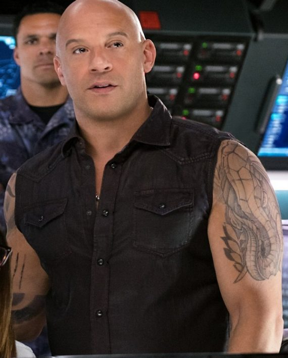 XXX Return of Xander Cage Vin Diesel Leather Vest
