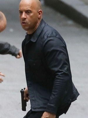 Furious 8 Vin Diesel Black Jacket