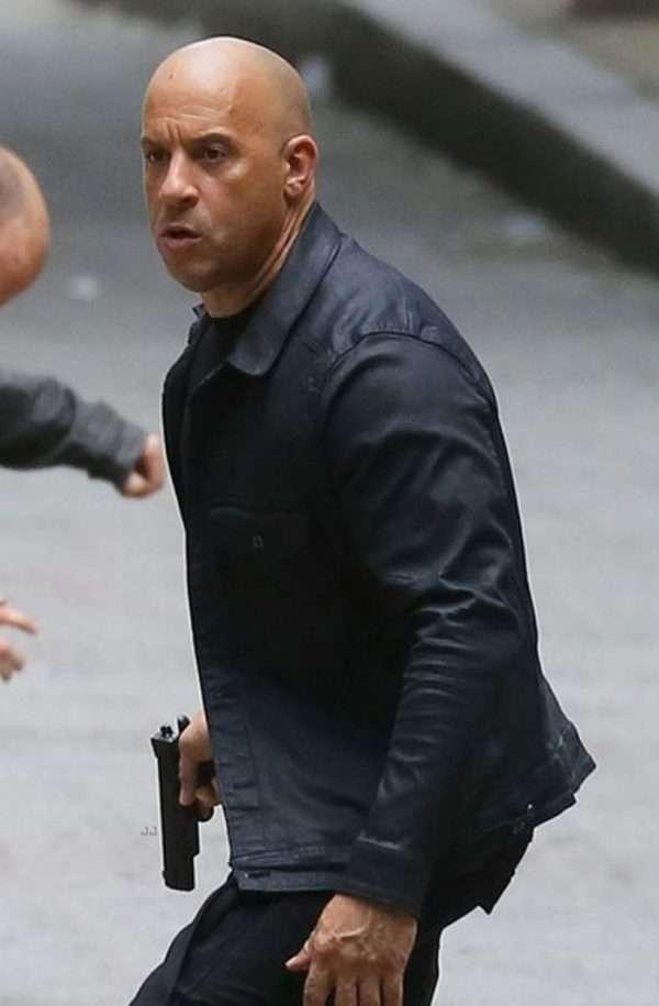 Furious 8 Vin Diesel Black Jacket