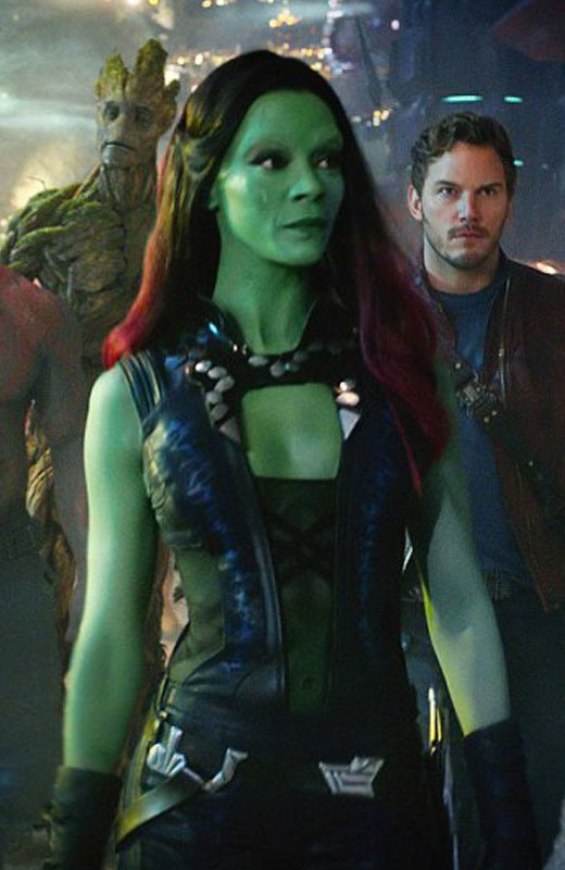 Guardians Galaxy Vol. 2 Gamora Zoe Saldana Vest