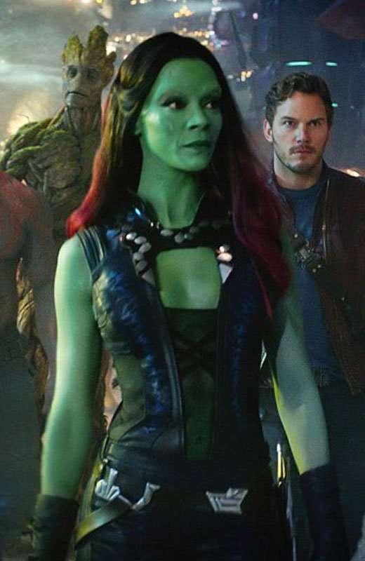 Guardians Galaxy Vol. 2 Gamora Zoe Saldana Vest