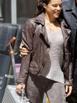 Michelle Rodriguez Fast and Furious 8 JacketMichelle Rodriguez Fast and Furious 8 Jacket