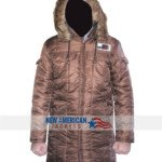 Star Wars Harrison Ford Han Solo Hoth Parka Jacket Coat