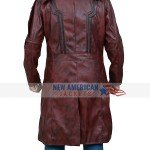 Chris Pratt Guardians of the Galaxy 2 Star Lord Leather Coat