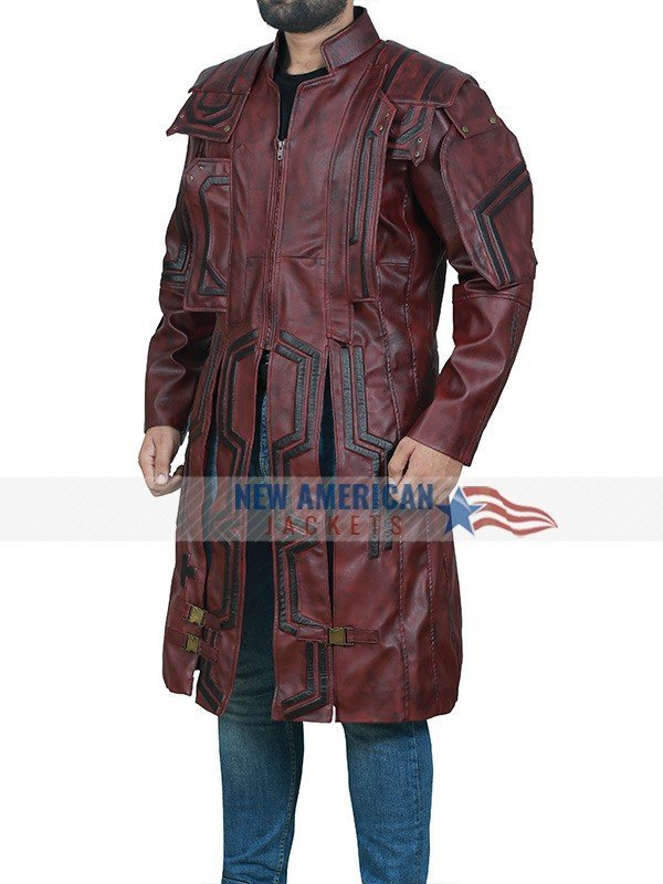 Chris Pratt Guardians of the Galaxy 2 Trench Coat