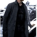 Donald Pierce Logan Boyd Holbrook Leather coat