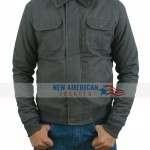 Grey Power Rangers Jason Scott Jacket