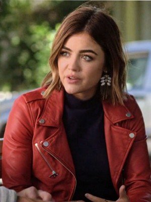 Aria Montgomery Red Jacket