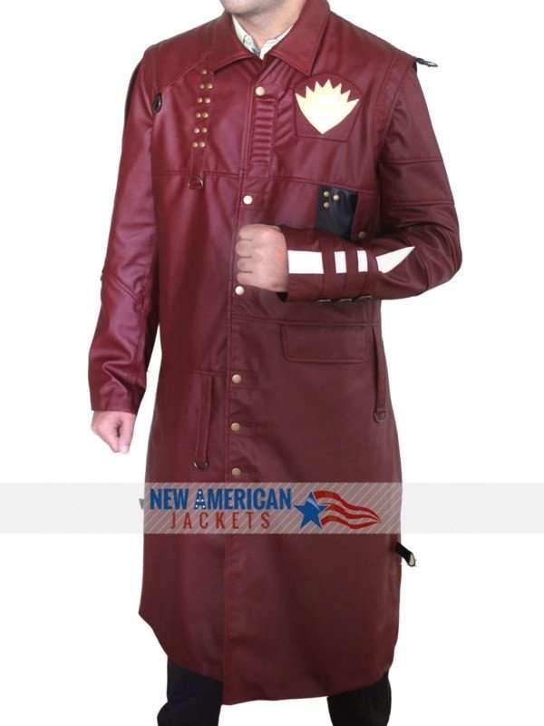 Guardians of the Galaxy 2 Michael Rooker Yondu Trench Coat