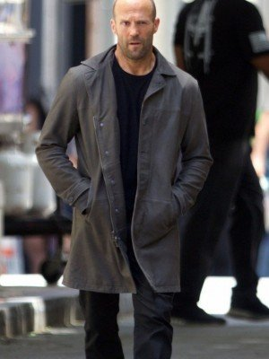 Jason Statham Coat from The Fate Of The Furious movie