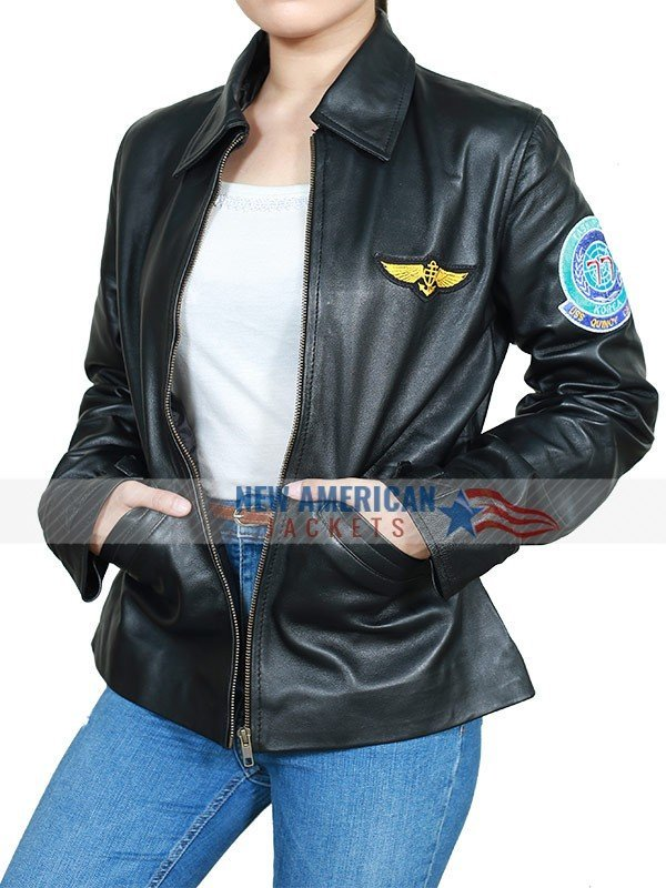 Kelly McGillis Leather Jacket