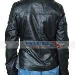 Top Gun Kelly Black Bomber Jacket