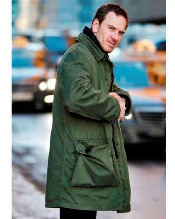 michael fassbender trench coat
