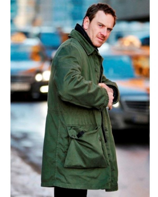 michael fassbender trench coat