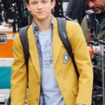 peter parker tom holland yellow homecoming jacket