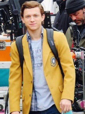 peter parker yellow jacket