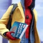 peter parker yellow coat