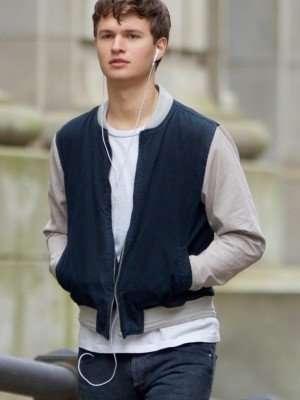 Varsity Style Ansel Elgort Jacket