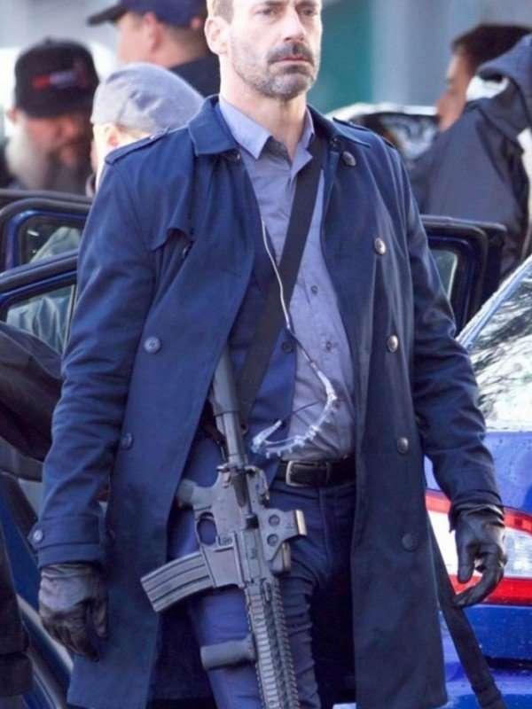 Baby Driver Jon Hamm Buddy Coat