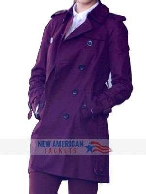 Baby Driver Eiza Gonzalez Coat