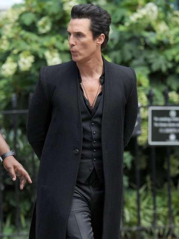 Matthew McConaughey Coat From Dark Tower