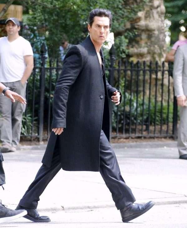Matthew McConaughey wool coat DarkTower