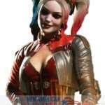 Red & Grey Harley Quinn Jacket