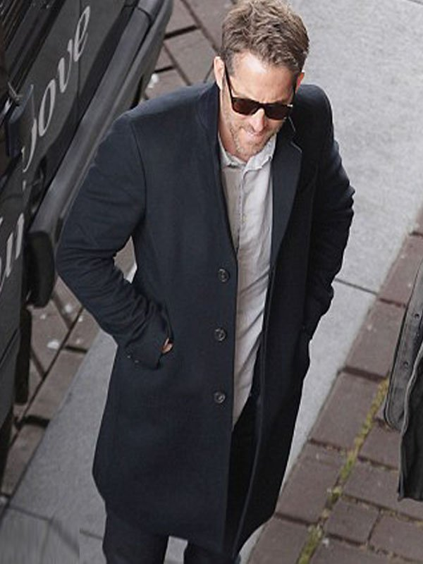 hitman bodyguard ryan reynolds wool coat