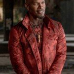 jamie Foxx Red Coat
