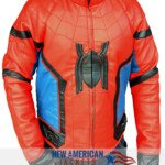 superman homecoming leather jacket
