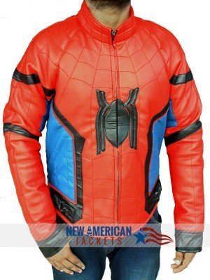 Homecoming Spiderman Jacket