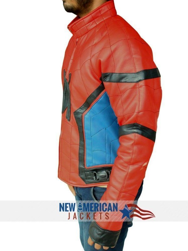 superman homecoming tom holland jacket